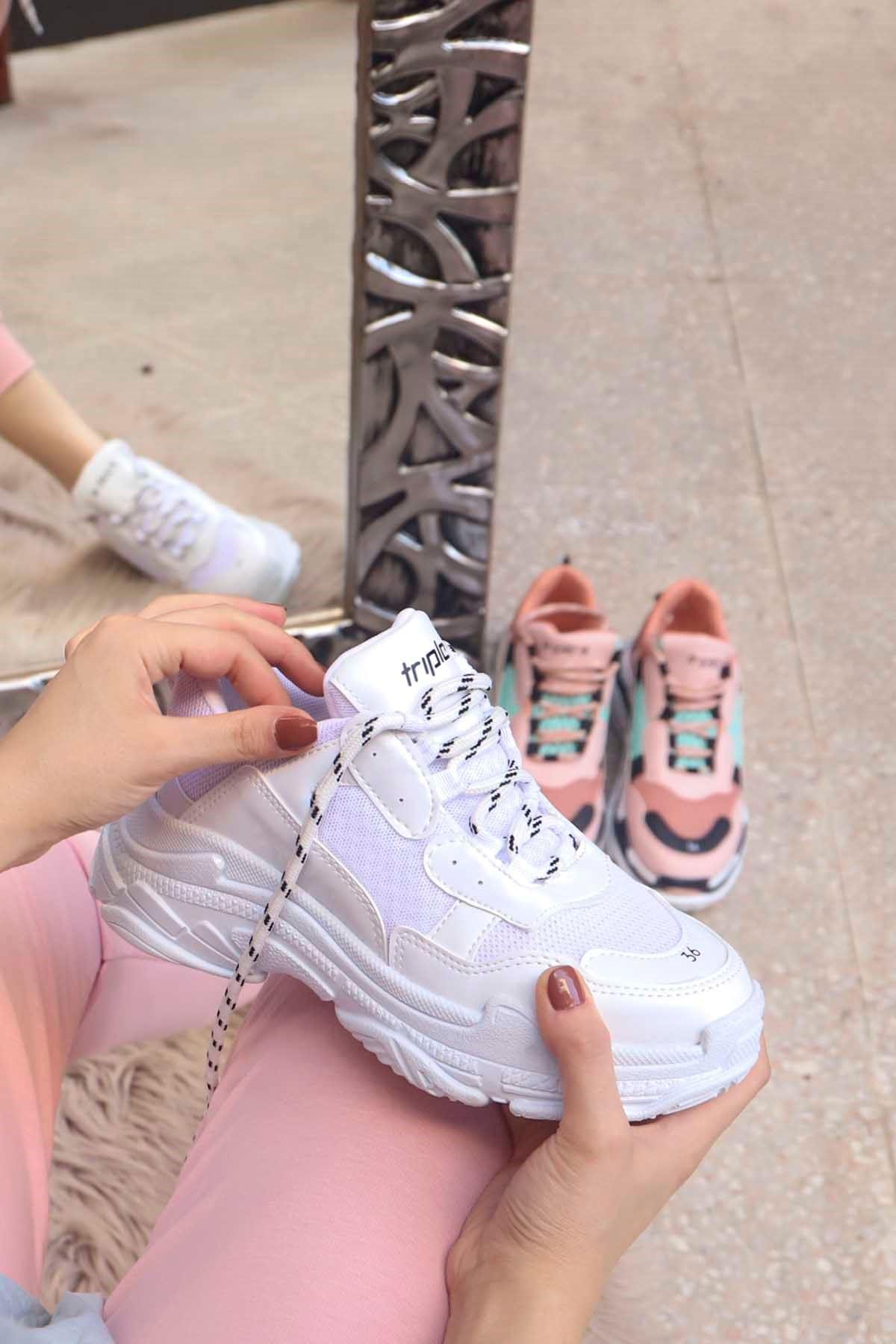 mami-BG Spor Ayakkabı Beyaz