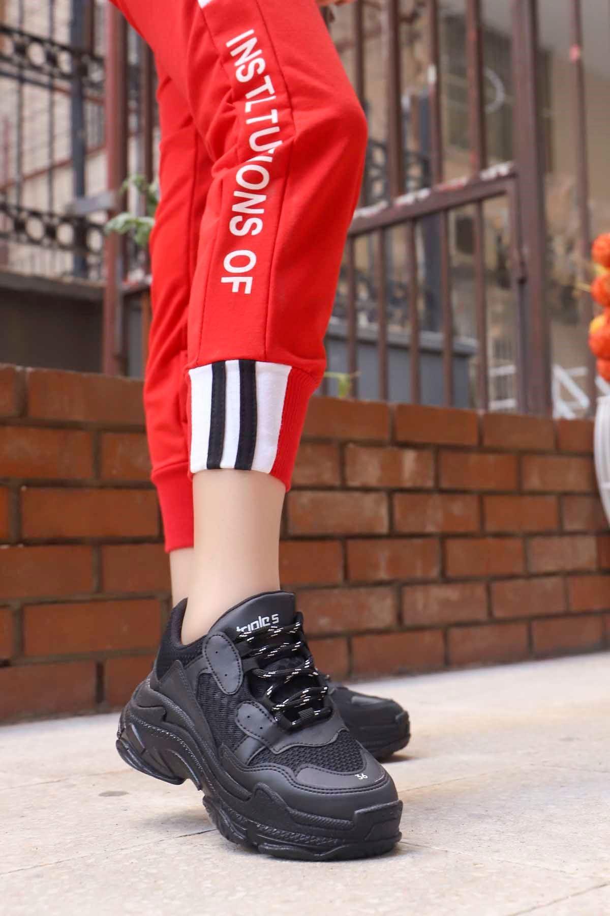 mami-BG Spor Ayakkabı Siyah