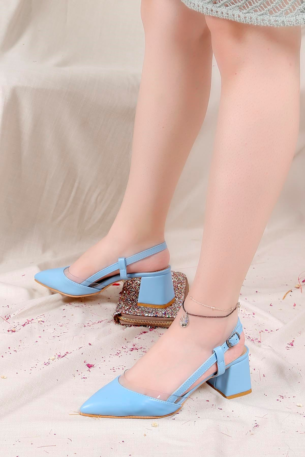Ftr-101 Yazlık Ayakkabı Mavi