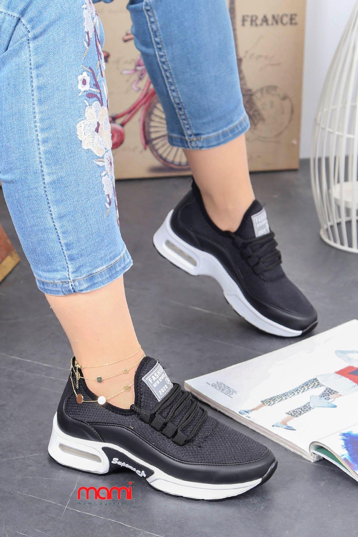 Frm-303 Air Taban Spor Ayakkabı Siyah Anorak