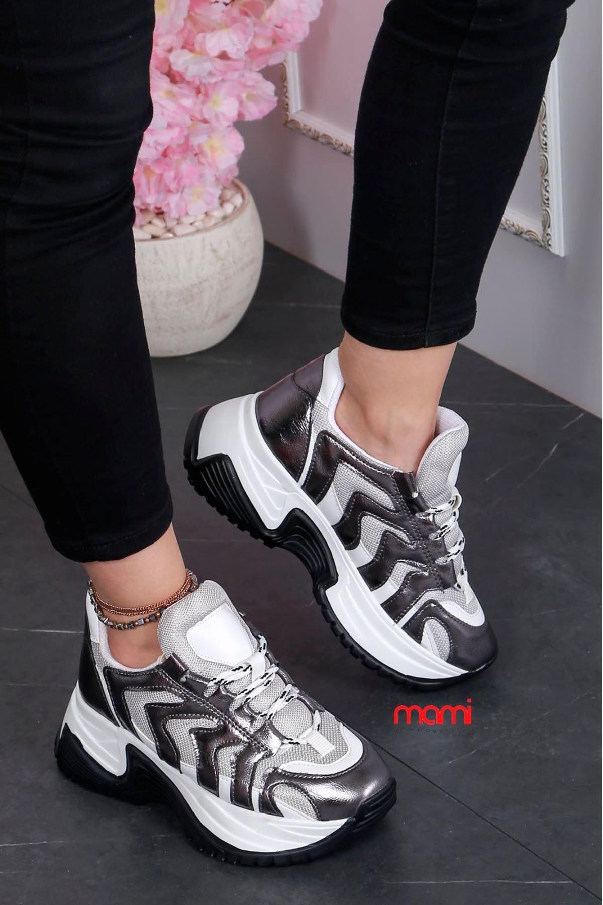 Mk-101 Yazlık Anorak Spor Ayakkabı Platin