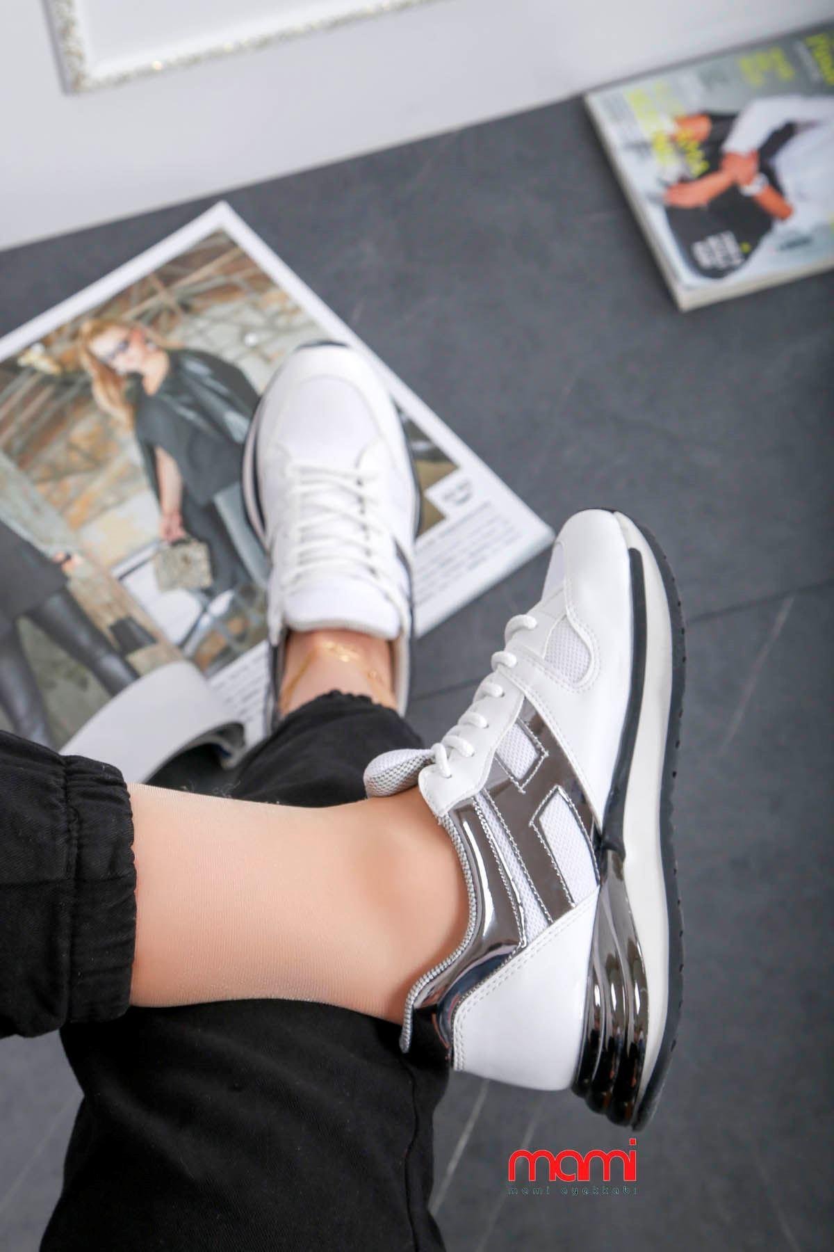 Gz-301 Spor Ayakkabı Beyaz Anorak