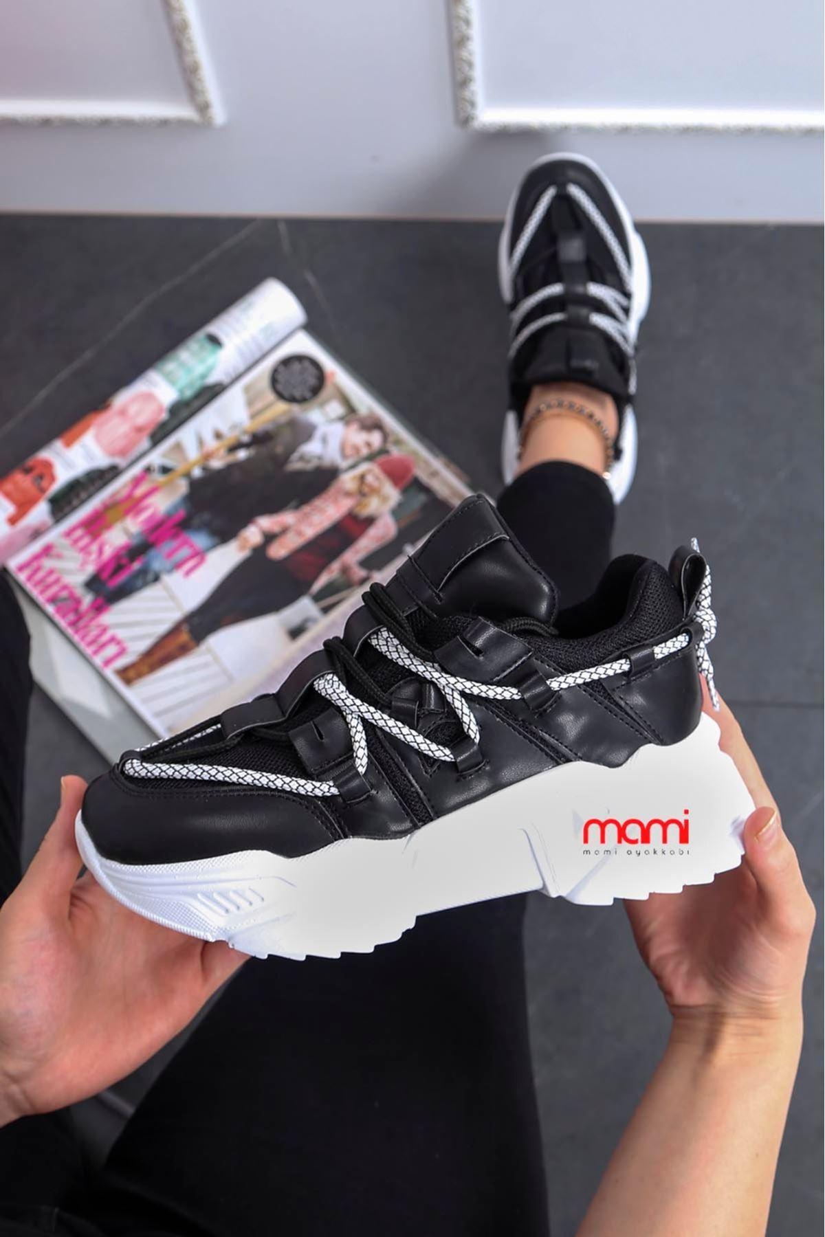 Zn-201 Yazlık Anorak Spor Ayakkabı Siyah