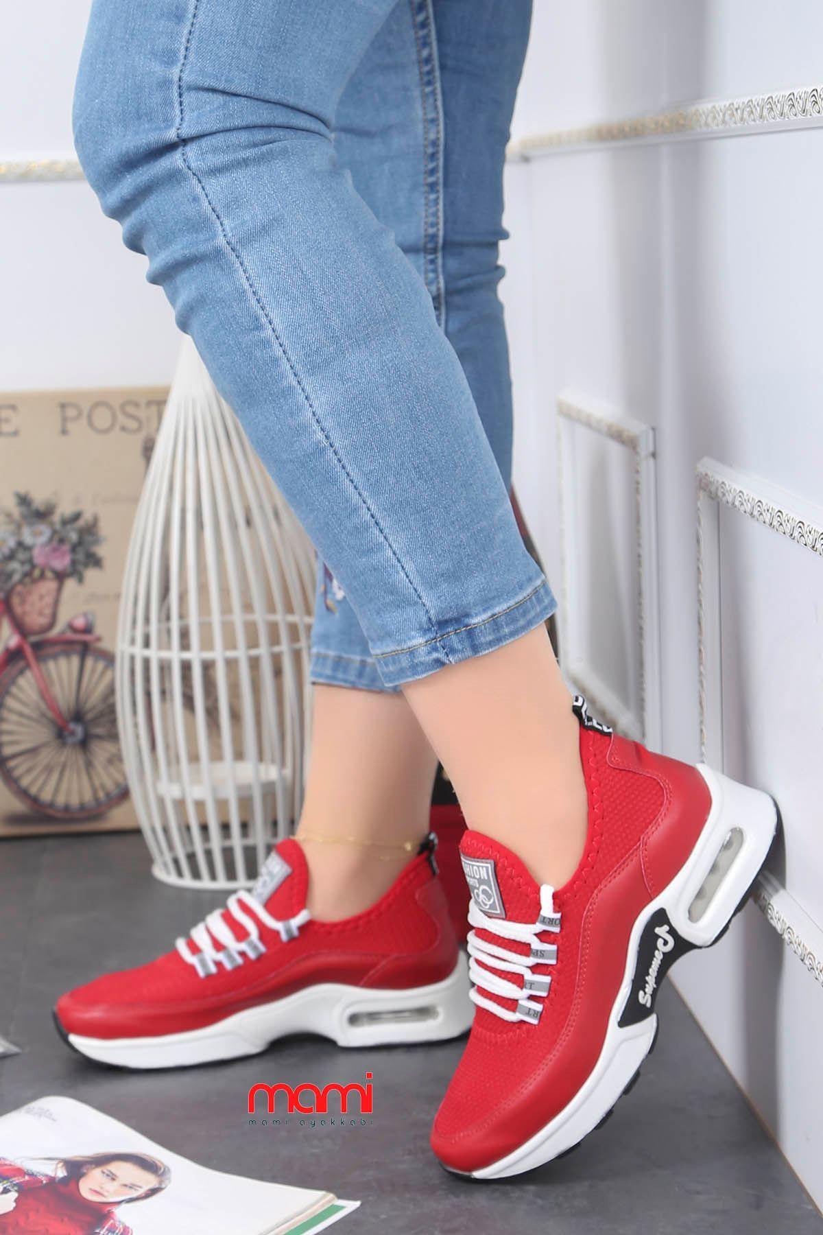 Frm-303 Air Taban Spor Ayakkabı Kırmızı Anorak
