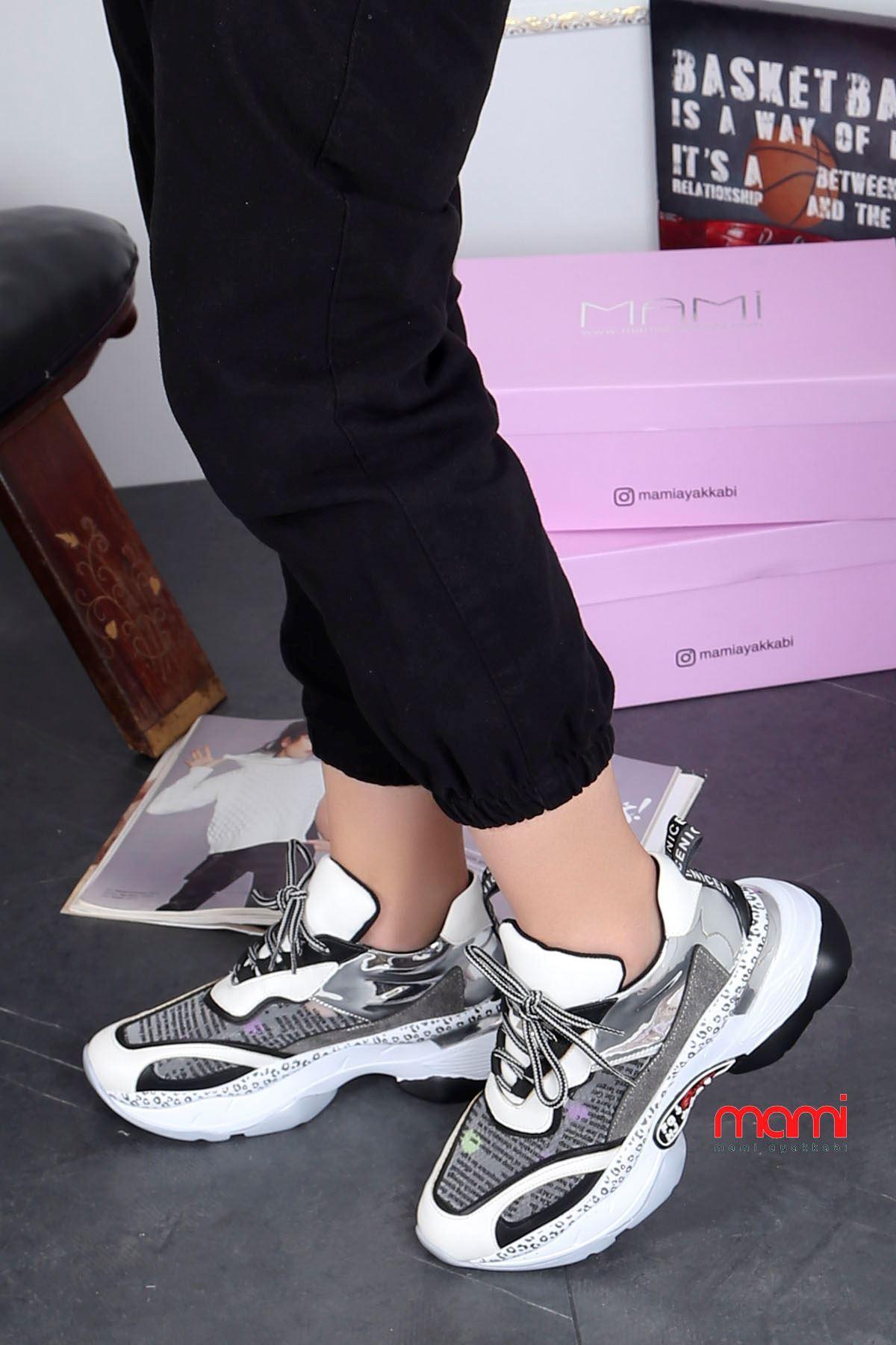 Mrt-300 Spor Ayakkabı Resim Detay Beyaz