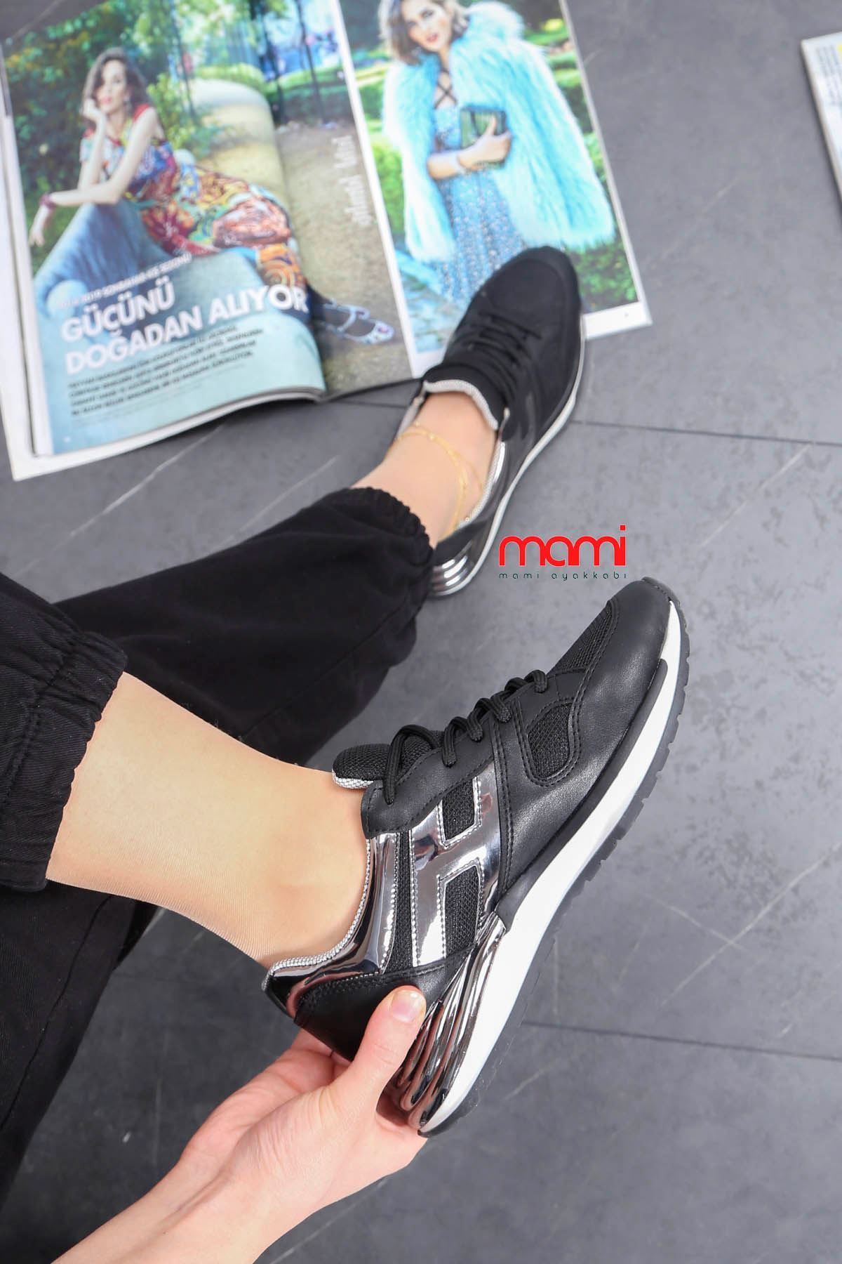 Gz-301 Spor Ayakkabı Siyah Anorak