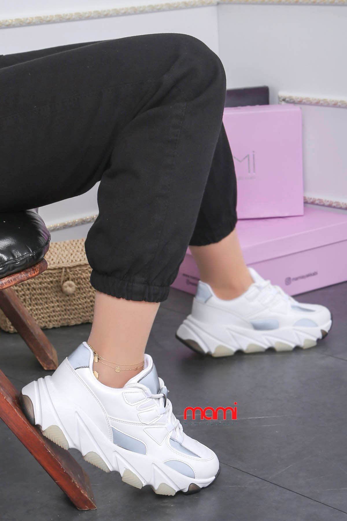 Mk-500 Spor Ayakkabı Beyaz