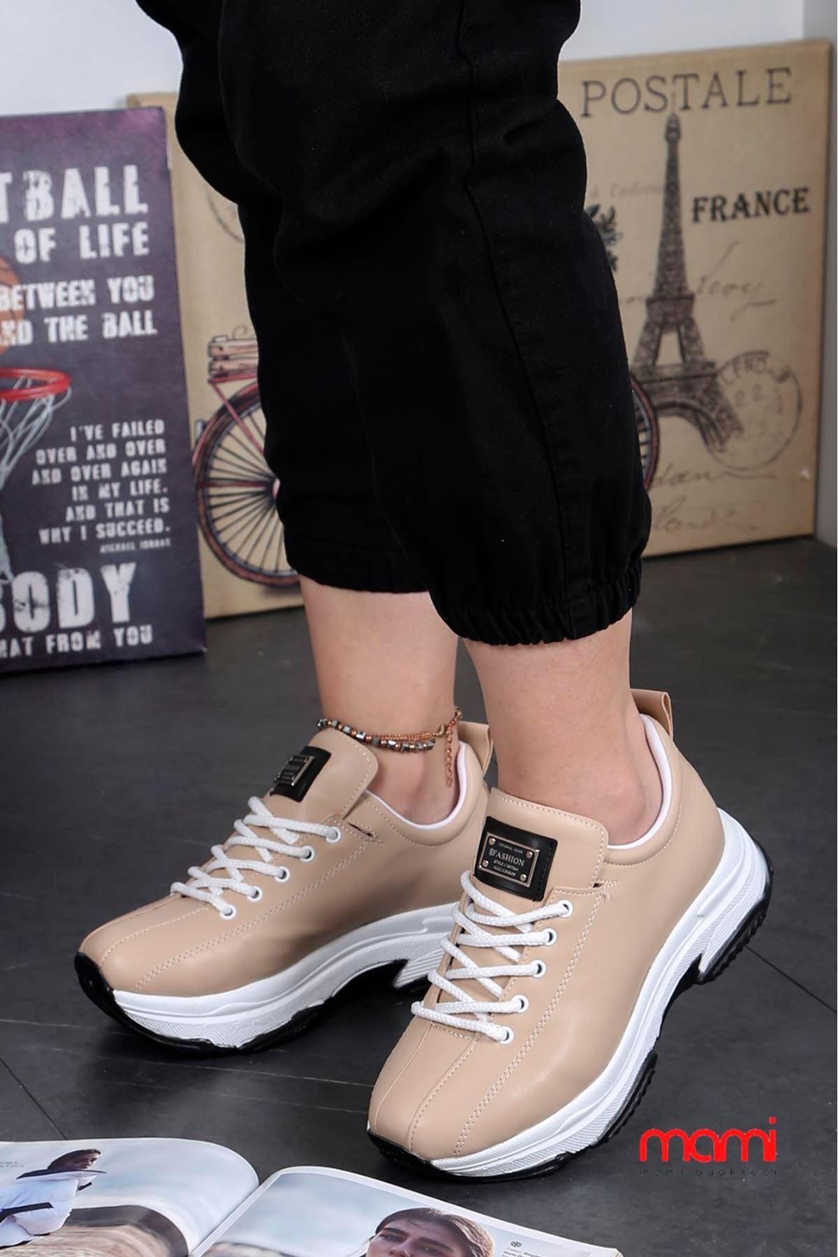 Frm-701 Spor Ayakkabı Vizon Deri