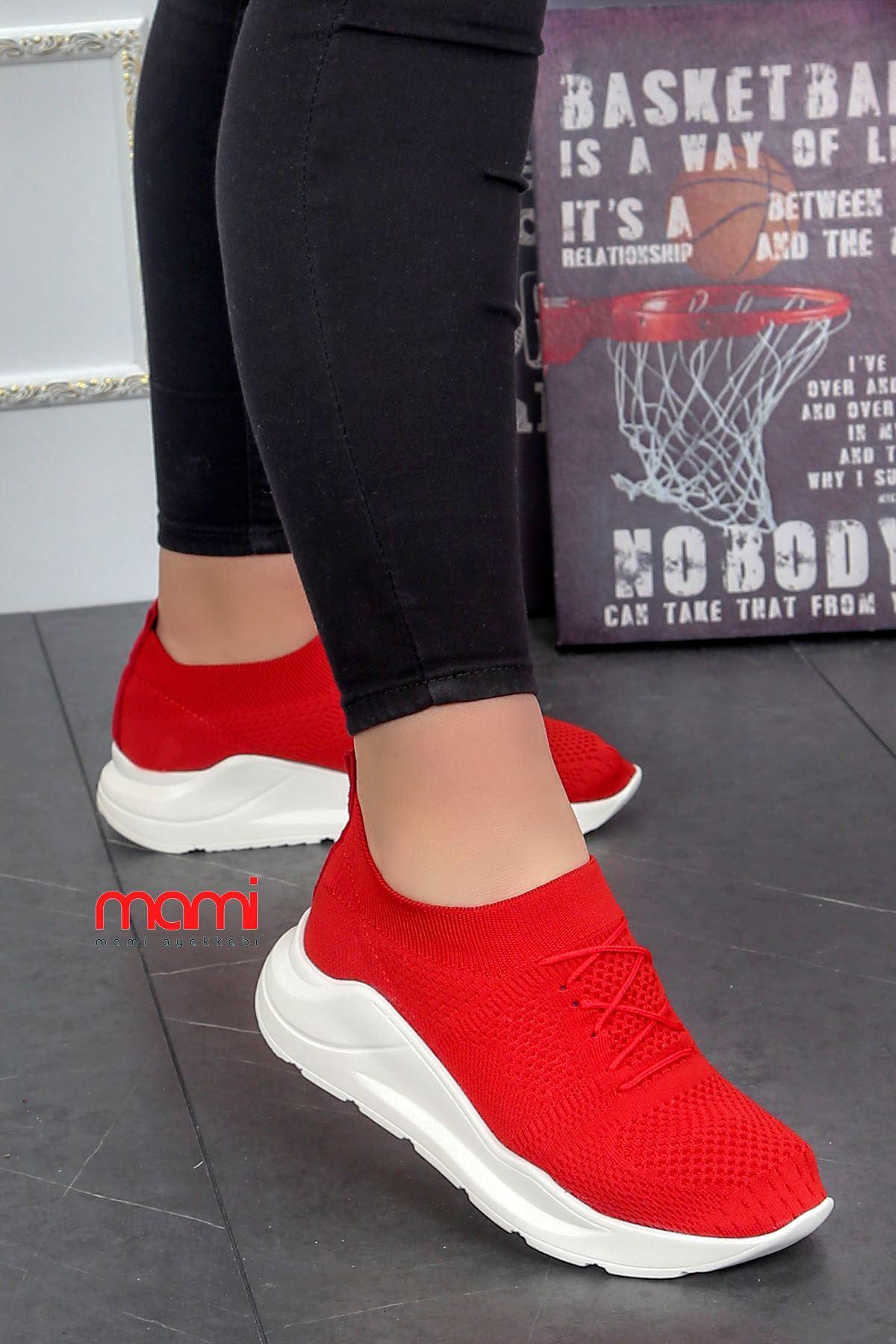 Ft-101 Triko Spor Ayakkabı Kırmızı