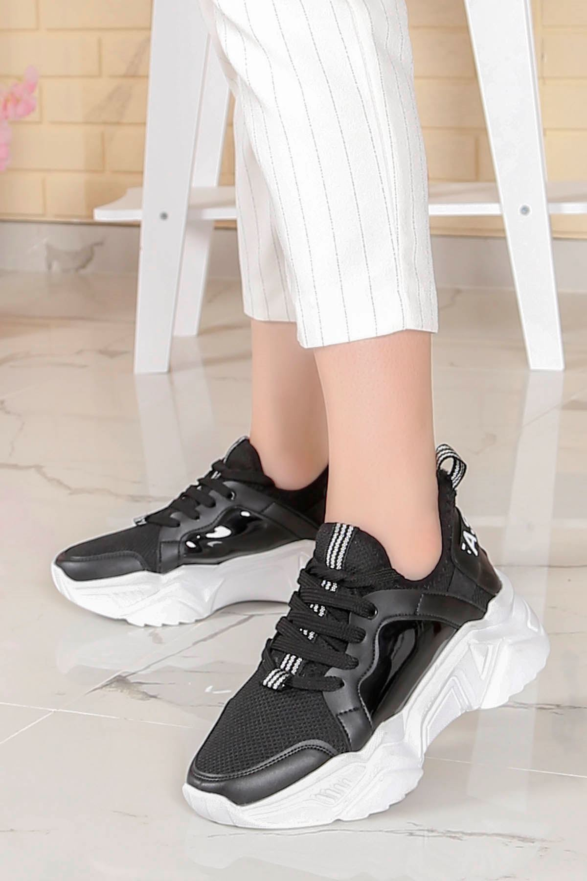 Örn-200 New Fashion  Siyah Spor Hologram