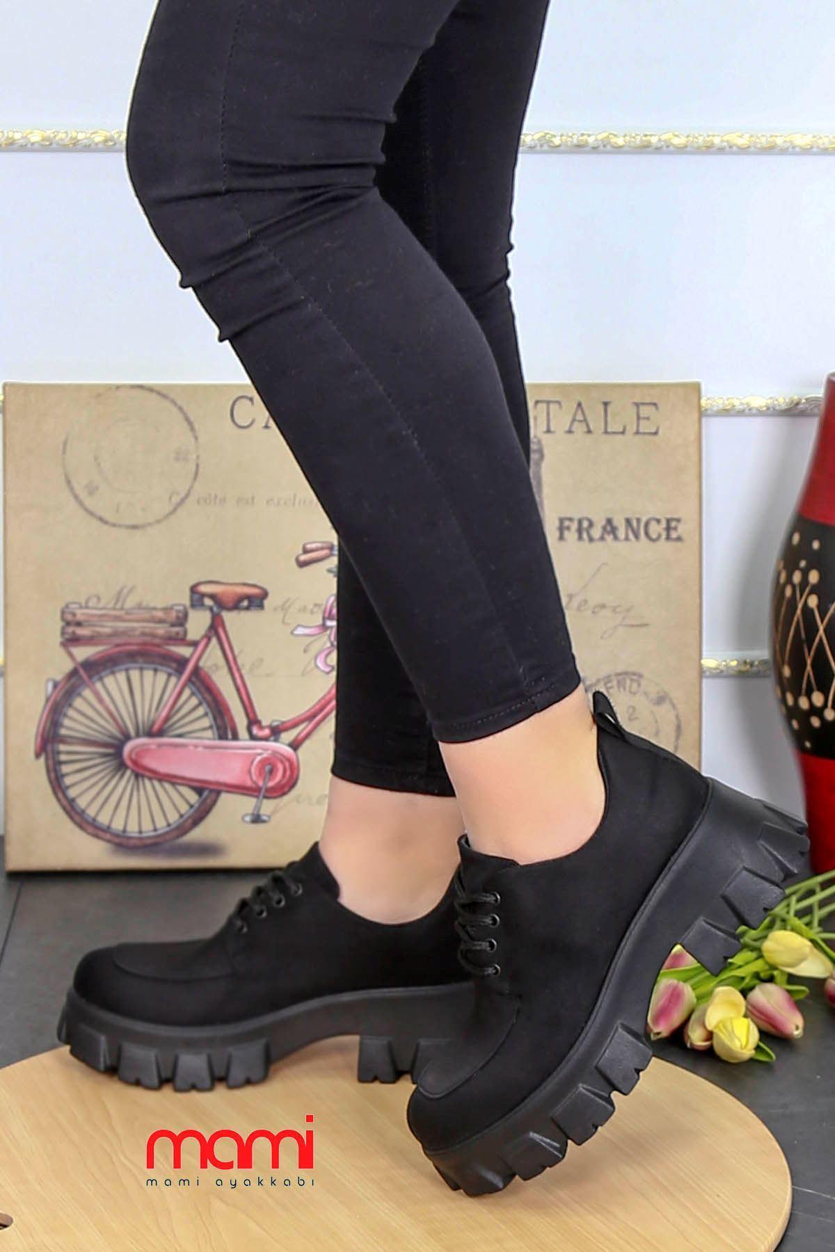 Ck-500 Tabanlı Spor Ayakkabı Siyah Süet
