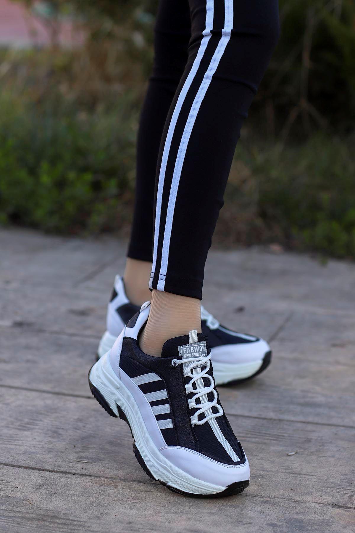 Frm-960 Fashion Spor Ayakkabı Siyah