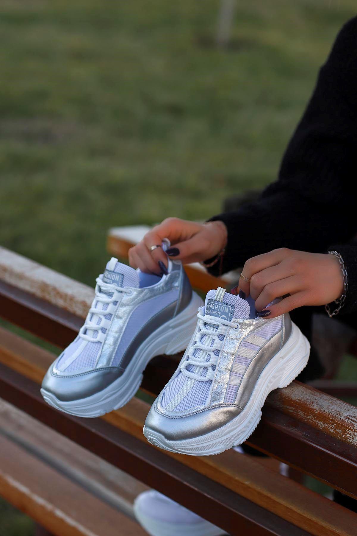 Frm-960 Fashion Spor Ayakkabı Gri