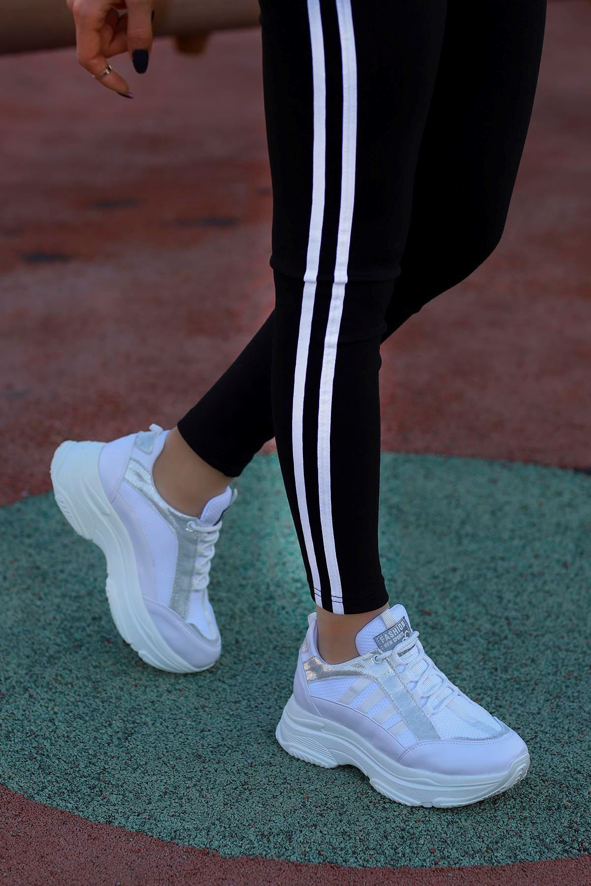 Frm-960 Fashion Spor Ayakkabı Beyaz