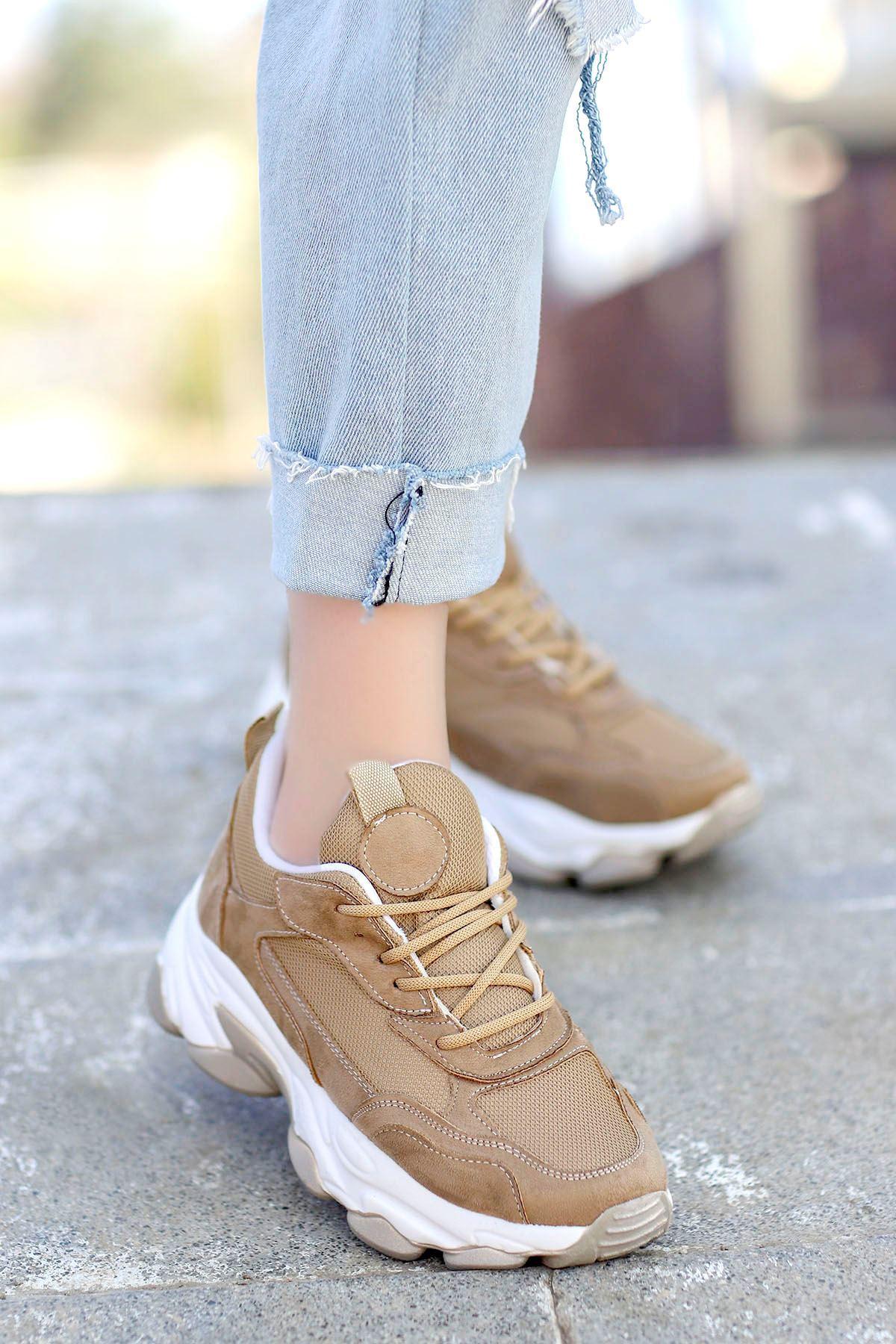 Kuki Tabanlı Spor Ayakkabı Nut
