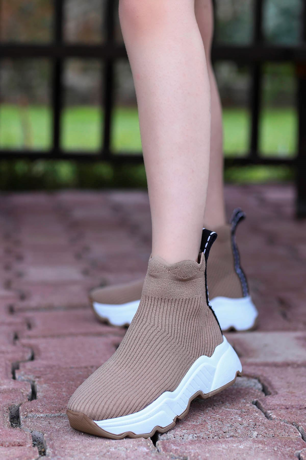 Tores Çorap Triko Spor Nud