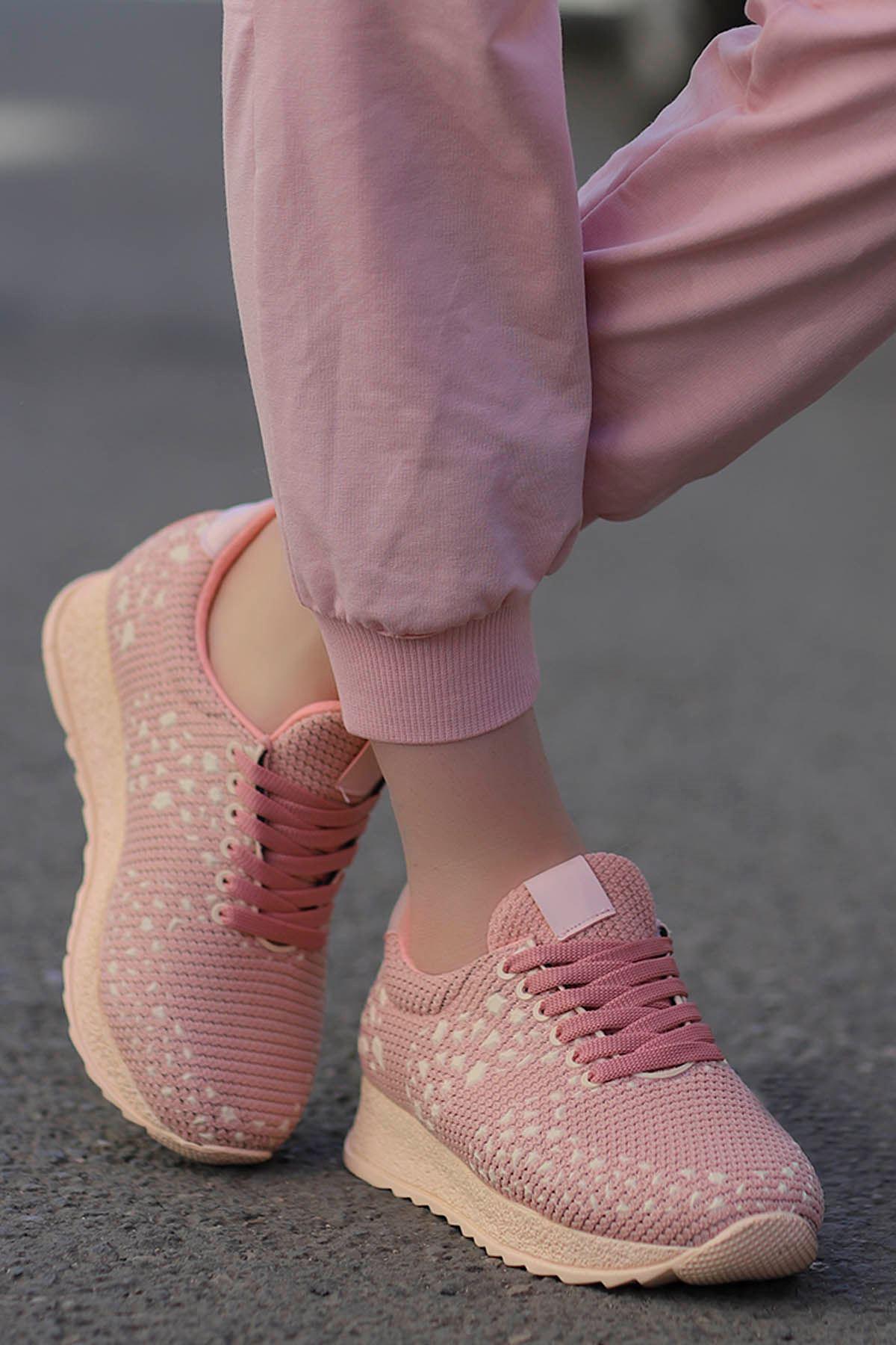 Della Pudra Triko Spor Ayakkabı