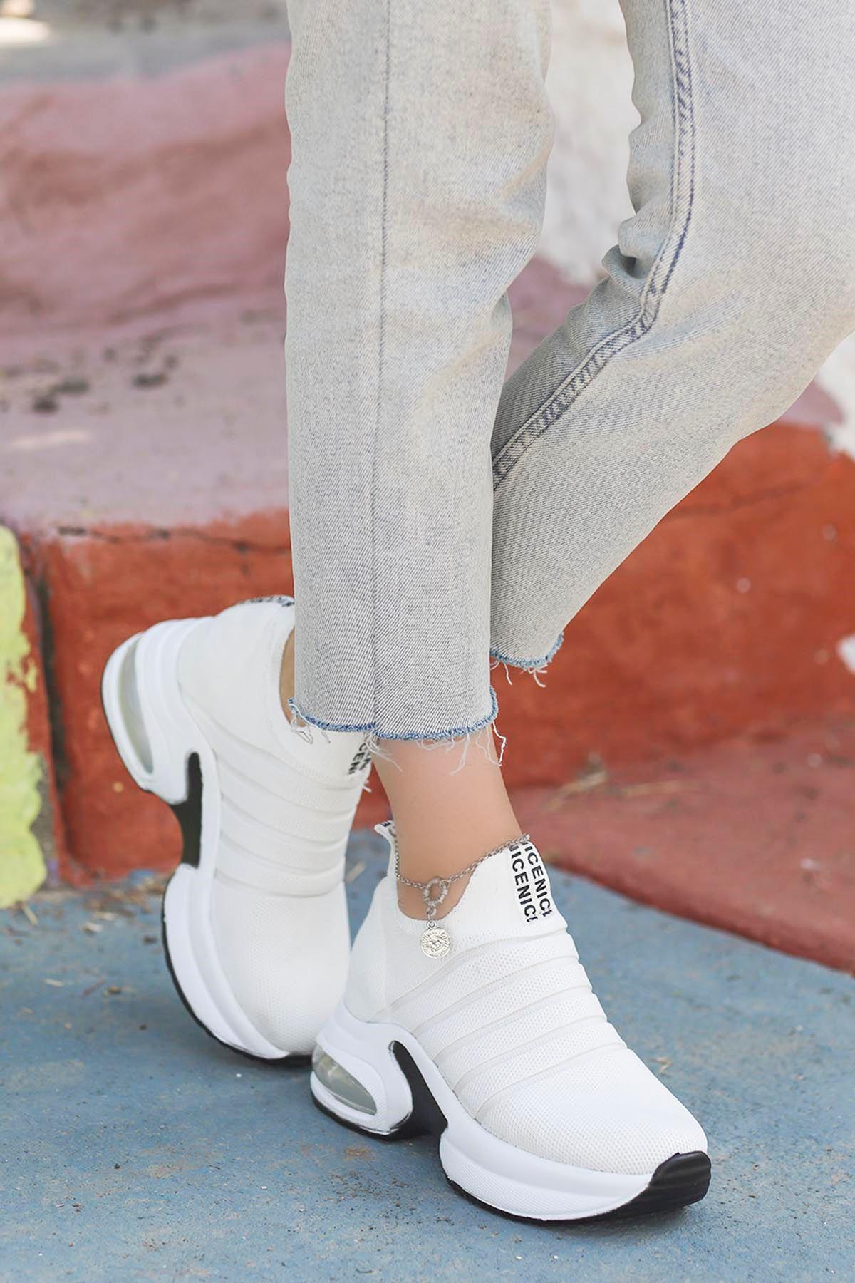 Jason Air Taban Spor Ayakkabı Beyaz