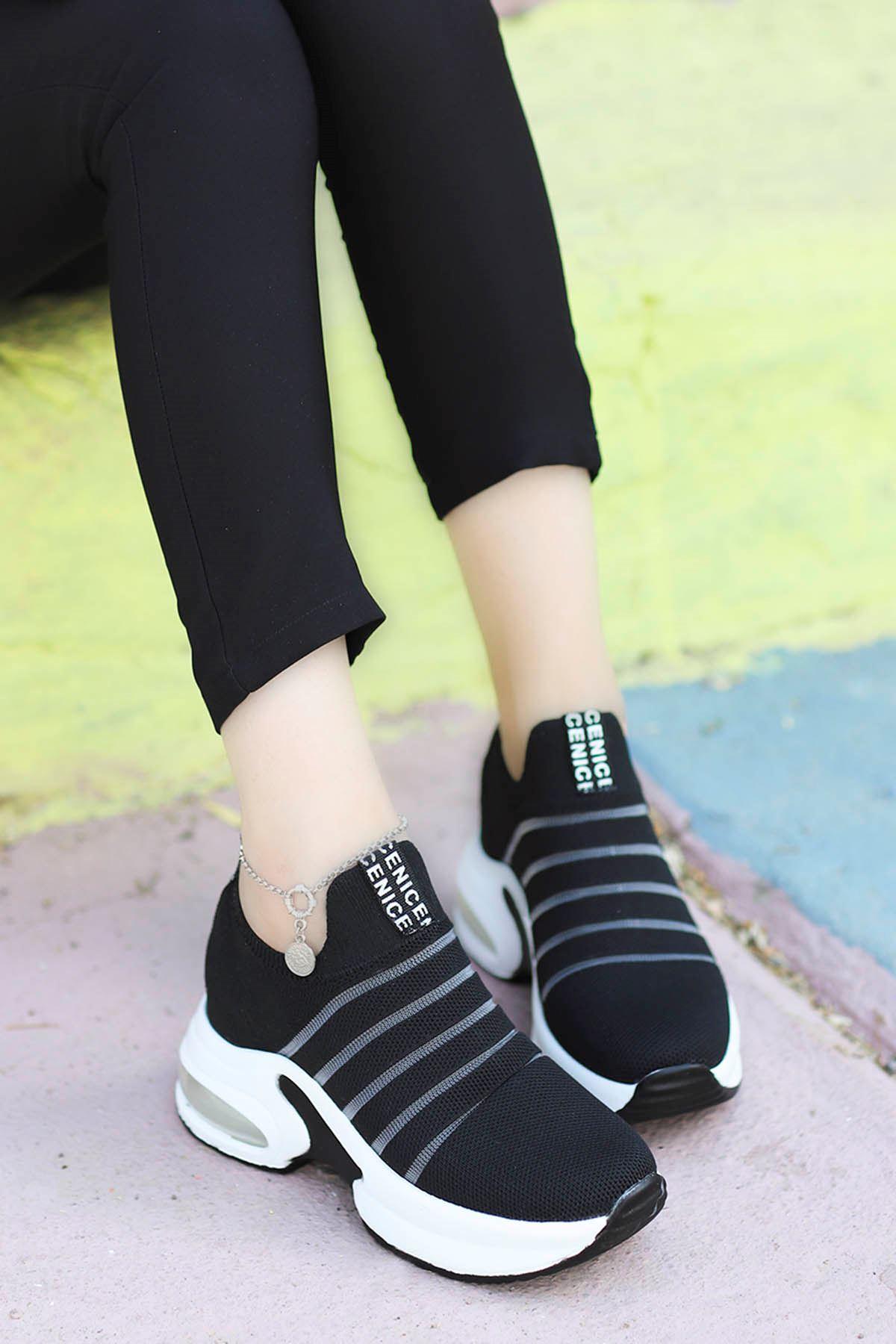 Jason Air Taban Spor Ayakkabı Siyah