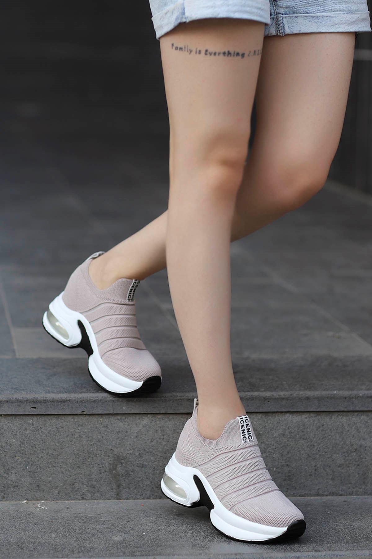 Jason Air Taban Spor Ayakkabı Nut
