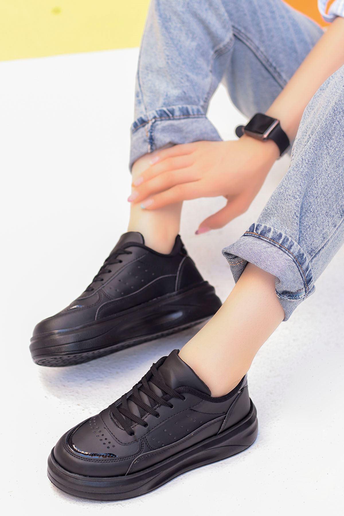 Beatrix Tabanlı Spor Ayakkabı Siyah