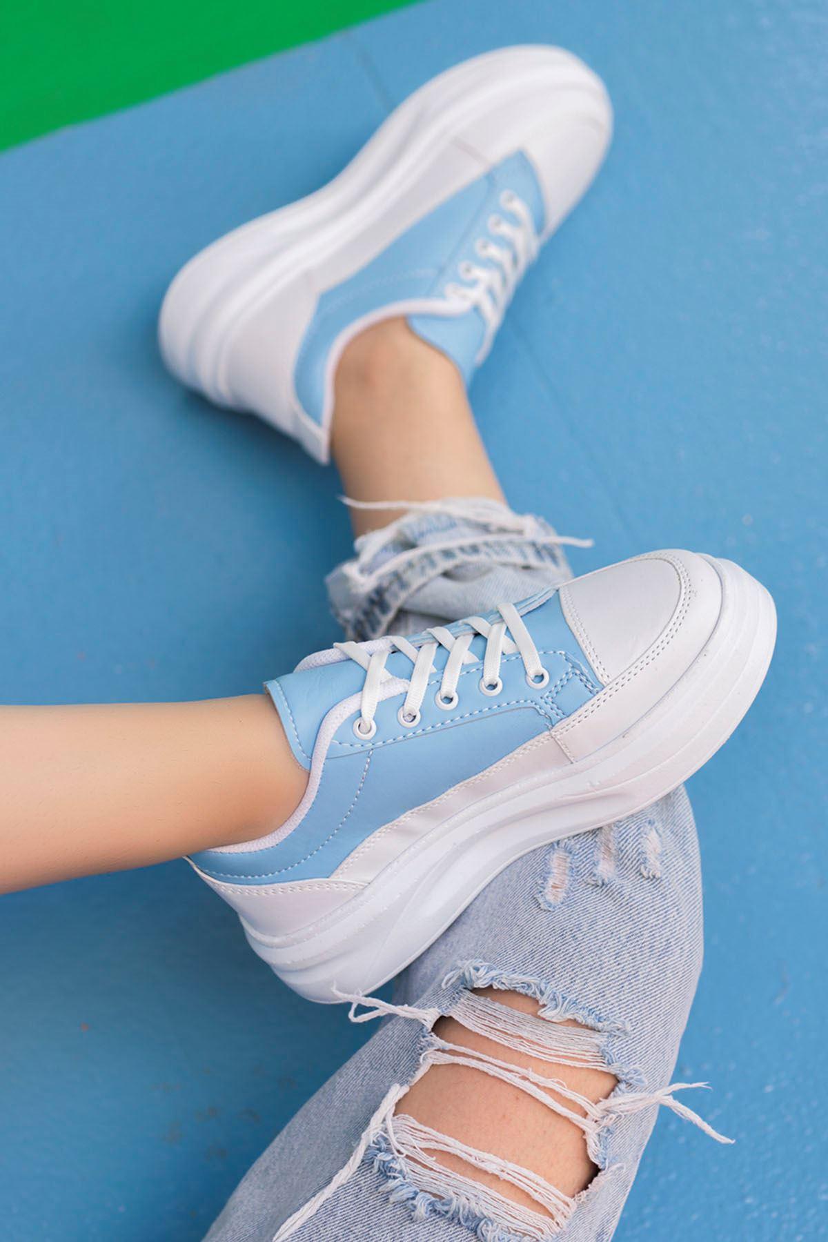 Clara Tabanlı Spor Ayakkabı Mavi