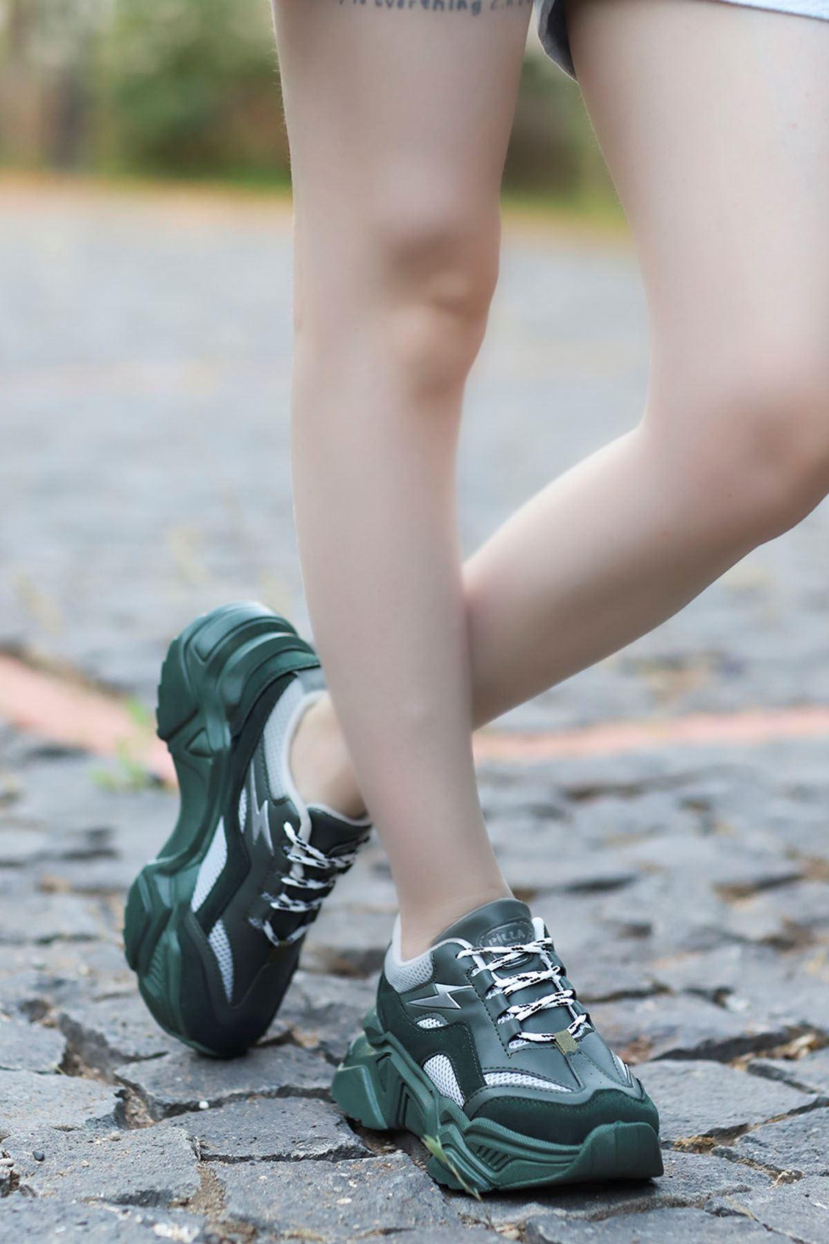 Rosse-Spor Ayakkabı Haki