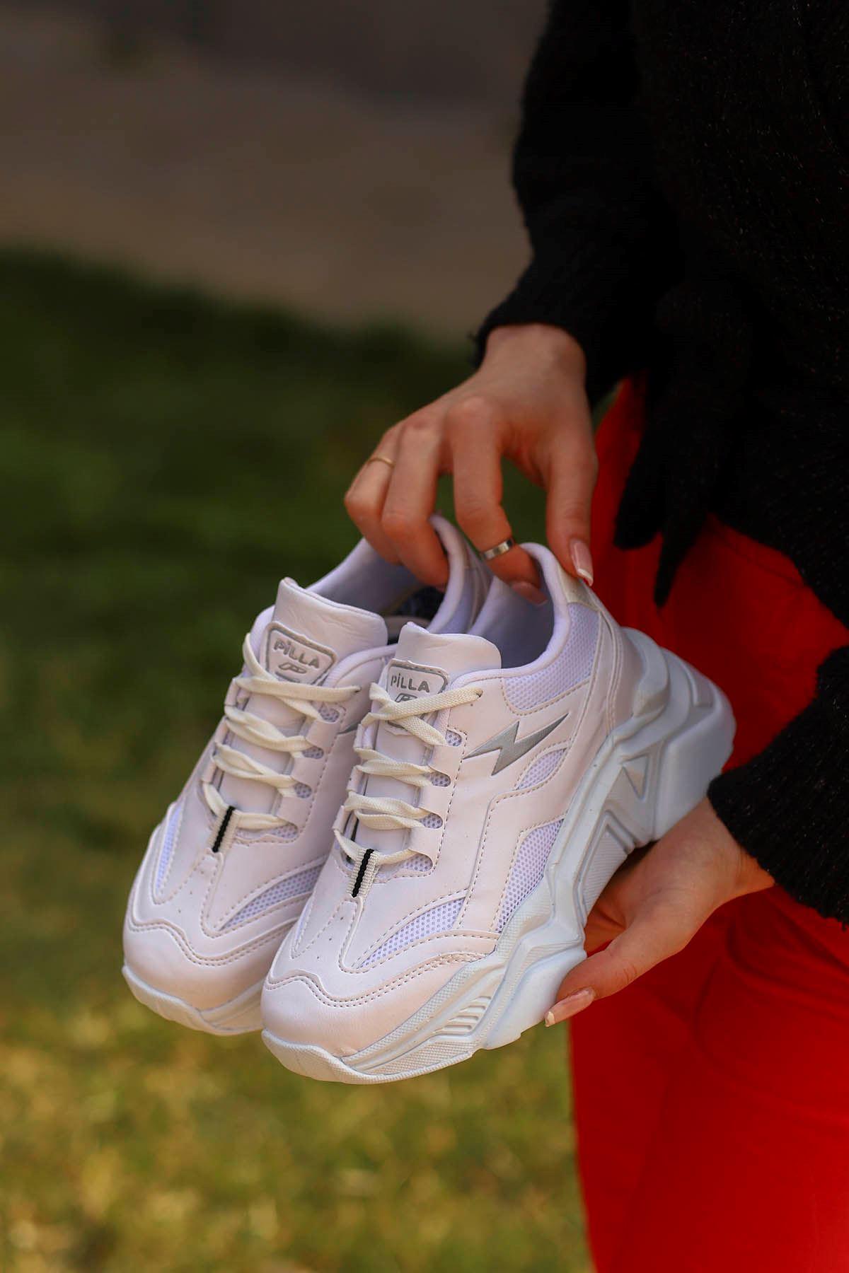 Rosse-Spor Ayakkabı Beyaz