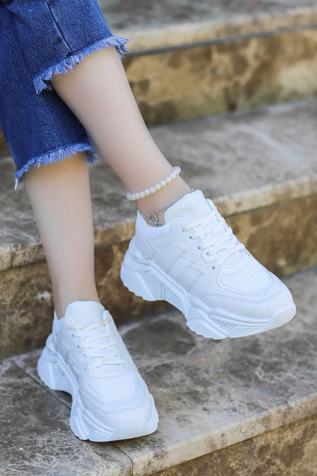 Dali Spor Ayakkabı Beyaz