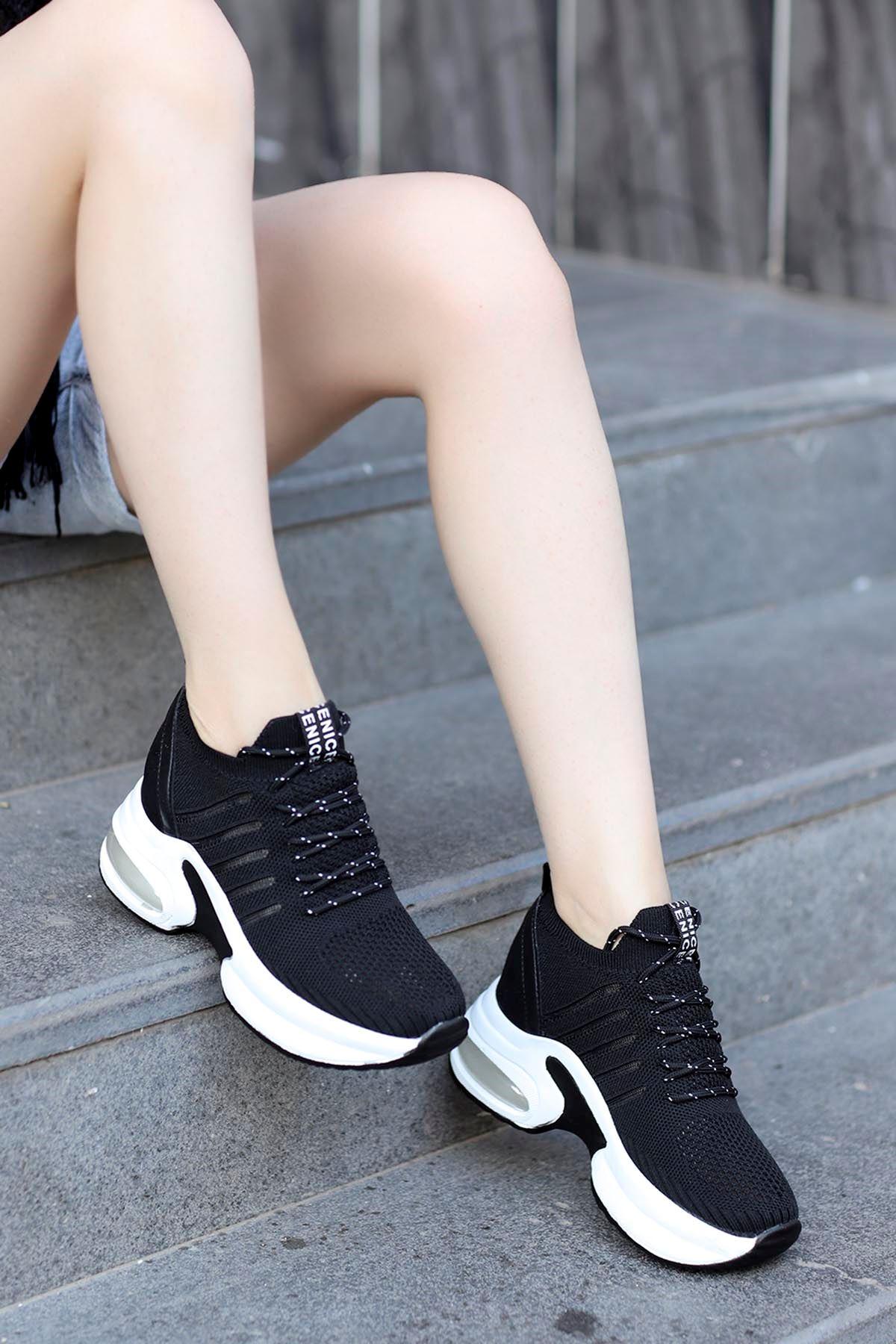 Twist Spor Ayakkabı Siyah