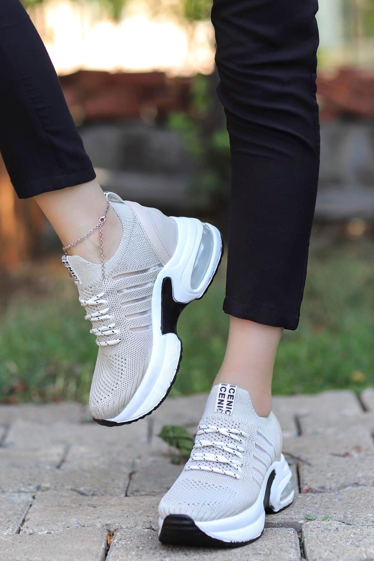 Twist Spor Ayakkabı Gri