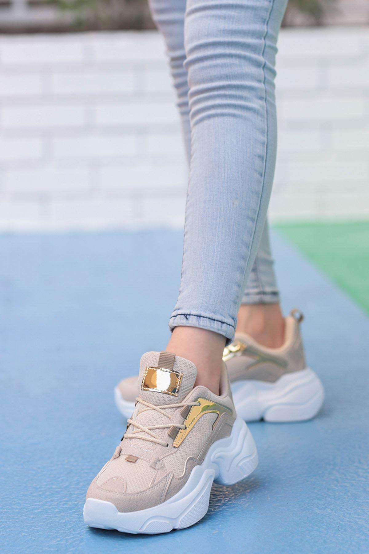 Sidney Tabanlı Spor Ayakkabı Vizyon/Beyaz Taban
