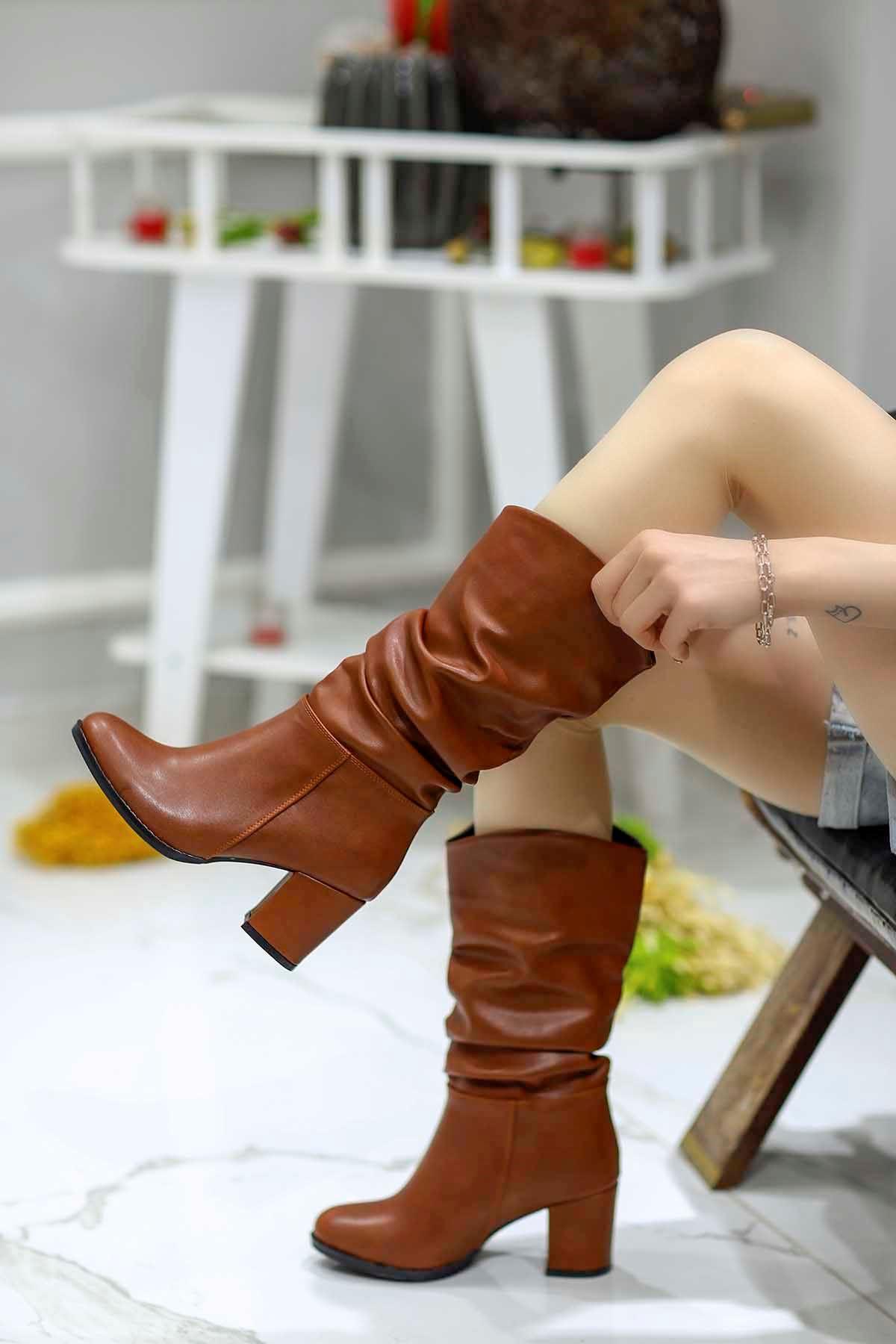 Drake Taba Deri Çizme