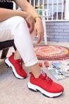 Frm-501 Love Spor Ayakkabı Kırmızı Süet