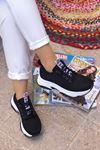Frm-501 Love Spor Ayakkabı Siyah Süet